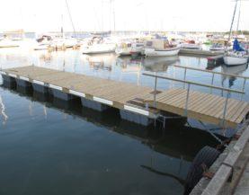 Boat pontoons Haapsalu Port Westmeri Andry Prodel +372 5304 4000 andry@topmarine.ee