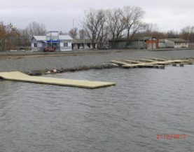 Swimming pontoon Rostov Rowing Center Andry Prodel +372 5304 4000 andry@topmarine.ee