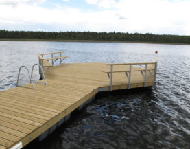 Swimming pontoon Vainjarv Andry Prodel +372 5304 4000 andry@topmarine.ee