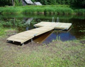Swimming pontoon Viljandi Andry Prodel +372 5304 4000 andry@topmarine.ee