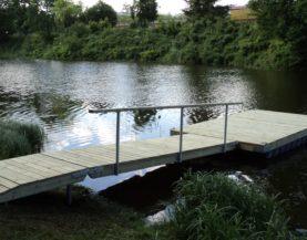 Swimming pontoon Voka Andry Prodel +372 5304 4000 andry@topmarine.ee