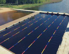 Swimming pontoon ECO Vainjarve Andry Prodel +372 5304 4000 andry@topmarine.ee