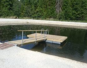 Swimming pontoon ECO Jarvamaa Andry Prodel +372 5304 4000 andry@topmarine.ee