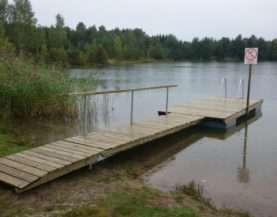 Swimming pontoon ECO Maidla Andry Prodel +372 5304 4000 andry@topmarine.ee