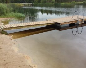 Swimming pontoon ECO Paide Andry Prodel +372 5304 4000 andry@topmarine.ee
