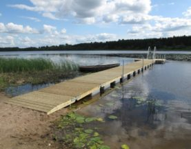 Swimming pontoon ECO Palamuse Andry Prodel +372 5304 4000 andry@topmarine.ee