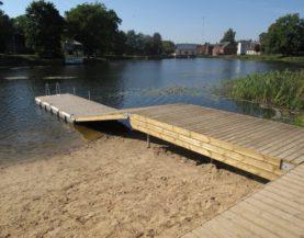 Swimming pontoon ECO Suure-Jaani Andry Prodel +372 5304 4000 andry@topmarine.e