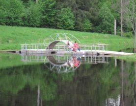 Swimming pontoon ECO Tarvastu Andry Prodel +372 5304 4000 andry@topmarine.ee
