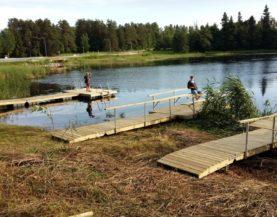 Swimming pontoon Alatskivi Andry Prodel +372 5304 4000 andry@topmarine.ee