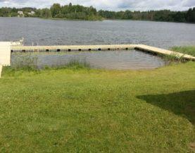 Swimming pontoons lake Kaarna Andry Prodel +372 5304 4000 andry@topmarine.ee