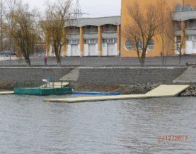 Swimming pontoons Rostov
