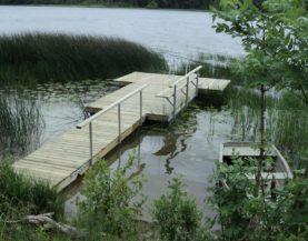 Swimming pontoons Lake Viljandi Andry Prodel +372 5304 4000 andry@topmarine.ee