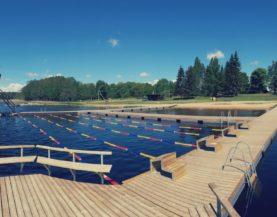 Swimming pontoons ECO Vainjarve Andry Prodel +372 5304 4000 andry@topmarine.ee