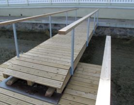 Wooden gangway Haapsalu Andry Prodel +372 5304 4000 andry@topmarine.ee