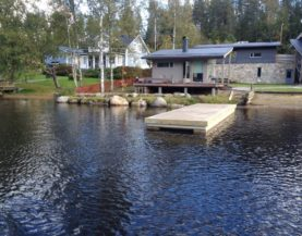 Heavy duty pontoons in Finland (2016)
