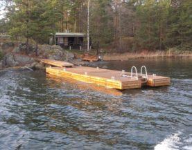 Heavy duty pontoons in Finland Andry Prodel +372 5304 4000 andry@topmarine.ee