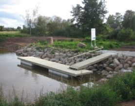 Timber pontoon with concrete floats Sassukvere Andry Prodel +372 5304 4000 andry@topmarine.ee