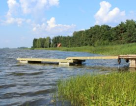 Timber pontoon with concrete floats Värska Andry Prodel +372 5304 4000 andry@topmarine.ee