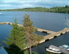 Timber pontoon with concrete floats Viljandi Andry Prodel +372 5304 4000 andry@topmarine.ee