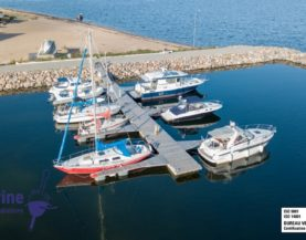 Timber pontoons with concrete float Andry Prodel +372 5304 4000 andry@topmarine.ee