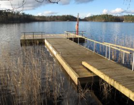 Timber pontoons with concrete floats Lithuania Andry Prodel +372 5304 4000 andry@topmarine.ee