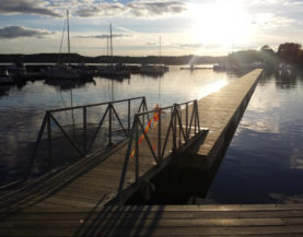 Timber pontoons with concrete floats Sigtuna Andry Prodel +372 5304 4000 andry@topmarine.ee