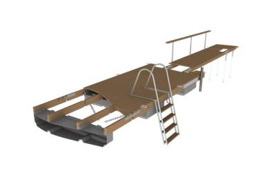 Swimming pontoons ECO Andry Prodel +372 5304 4000 andry@topmarine.ee